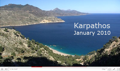 Video Karpathos winter 2010